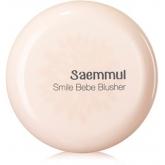 Румяна матовые устойчивые The Saem Sammul Bebe Blusher Smile Rose Pink