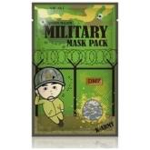 Листовая маска для мужчин Mijin Military mask