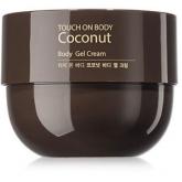 Кокосовый крем-гель для тела The Saem Touch On Body Coconut Body Gel Cream