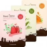 Маска с растительными экстрактами Berrisom Real Jeju Skingel Mask