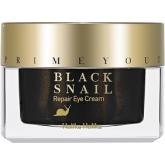 Восстанавливающий крем для глаз с экстрактом черной улитки Holika Holika Prime Youth Black Snail Repair Eye Cream