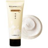 Рисовая пенка для лица The Face Shop Rice Water Bright Cleansing Foam