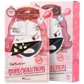 Маска для сужения пор Elizavecca 3 Step Pore Solution Mask Pack