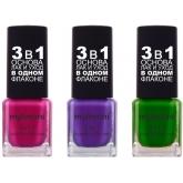 Лак для ногтей 3 в 1 MyLimoni Base&Nail&Care