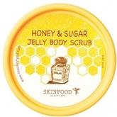 Сахарно-медовый скраб для тела Skinfood Honey And Sugar Jelly Body Scrub