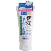 Увлажняющая крем-пена для умывания Rohto Gokujyun Super Hyaluronic Acid Moisturizing Face Wash