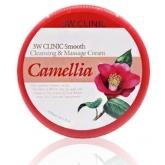 Массажный крем для лица и тела 3W Clinic Smooth Cleansing And Massage Cream