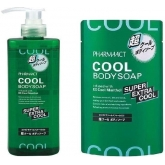 Жидкое мыло Kumano Cosmetics Pharmaact Extra Cool Body Soap