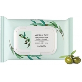 Салфетки очищающие The Saem Marseille Olive Deep Cleansing Tissue