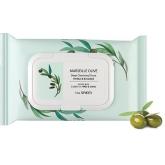 Салфетки очищающие The Saem Marseille Olive Deep Cleansing Tissue