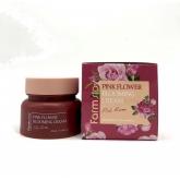 Крем для лица с экстрактом розы Farmstay Pink Flower Blooming Cream Pink Rose