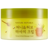 Массажный крем с мёдом и травами Nature Republic Honey And Herb Massage Cream