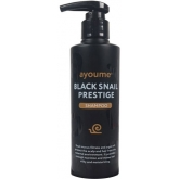 Шампунь для волос с улиточным муцином Ayoume Black Snail Prestige Shampoo
