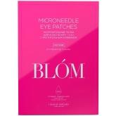 Патчи для век с микроиглами и кофеином Blom Caffeine Microneedle Eyepatches
