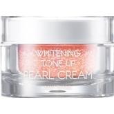 Крем для лица с жемчужной пудрой May Island Whitening Tone Up Pearl Cream