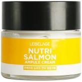Питательный крем с маслом лосося Lebelage Nutri Salmon Ampule Cream
