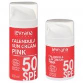 Солнцезащитный крем Levrana Солнцезащитный крем для тела Календула 50 SPF Pink