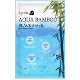 Увлажняющая маска с бамбуком Mijin Cosmetics Aqua Bamboo Black Mask