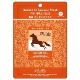 Листовая маска Mijin Cosmetics Horse Oil Essence Mask