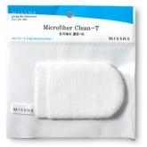 Очищающая рукавица для лица Missha Microfiber Clean-T