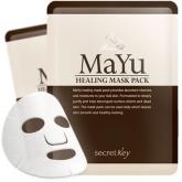 Питательная маска с конским жиром Secret Key Mayu Healing Mask Pack