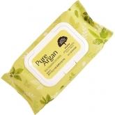 Салфетки для снятия макияжа Welcos Ecoennea Pure Argan Real Cleansing Oil Tissue
