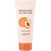 Скраб-гель для тела с экстрактом персика SkinFood Peach&Seed Jelly Body Scrub