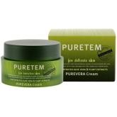 Крем для лица с экстрактом алоэ вера Welcos Puretem Purevera Cream
