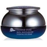 Антивозрастной крем для глаз с улиточным муцином Bergamo Hanhui Snail Skin Refinisher Essential Eye Cream
