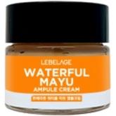 Питательный крем-сыворотка с конским жиром Lebelage Ampule Cream Waterful Mayu