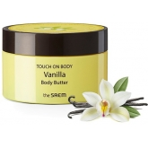 Густое крем-масло для тела с ванилью The Saem Touch On Body Vanilla Body Butter