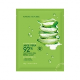 Тканевая маска с алоэ вера Nature Republic Soothing & Moisture Aloe Vera 92% Soothing Gel Mask Sheet