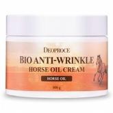 Биокрем против морщин с лошадиным жиром Deoproce Bio Anti-Wrinkle Horse Cream