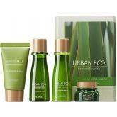 Уходовый набор с экстрактом льна The Saem Urban Eco Harakeke Travel 4 Kit