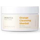 Очищающий бальзам-щербет с экстрактом апельсина Aromatica Orange Cleansing Sherbet