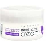 Регенерирующий крем для ног с маслом лаванды Aravia Professional Medi Heal Cream