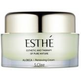 Восстанавливающий крем для лица с алоэ вера Enprani S'Claa Esthe Aloeca Renewing Cream