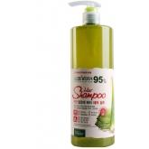 Шампунь для волос с алоэ вера White Cospharm White Organia Good Natural Aloe Vera Hair Shampoo