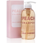 Шампунь с экстрактом персика и коллагеном Hello Everybody Peach Shampoo