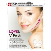 Маска-лифтинг для подбородка SNP Lovely V-Firming Patch