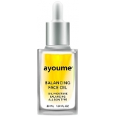Восстанавливающее масло для лица с подсолнухом Ayoume Balancing Face Oil With Sunflower