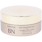 Гидрогелевые патчи для глаз с золотом и экстрактом птичьих гнёзд It's Skin Prestige BN Eye Gold Patch EX