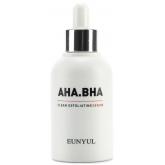 Обновляющая сыворотка с AHA и BHA кислотами Eunyul AHA.BHA Clean Exfoliating Serum