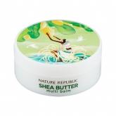 Универсальный бальзам с маслом ши Nature Republic Shea Butter Multi Balm
