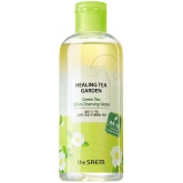 Двухфазная очищающая вода The Saem Healing Tea Garden Green Tea Oil in Cleansing Water