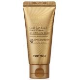 Крем для рук с улиточным муцином и коллоидным золотом Tony Moly Intense Care Gold 24k Snail Hand Cream