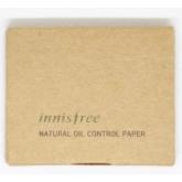 Матирующие салфетки Innisfree Natural Oil Control Paper