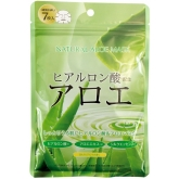 Натуральная маска для лица с экстрактом алоэ Japan Gals Natural Aloe Mask