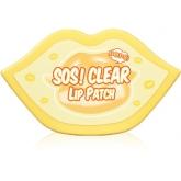 Очищающая маска-патч для губ Berrisom Sos Oops Clear Lip Patch