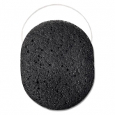 Органический спонж конняку c бамбуковым углем Beautific Black Sponge For Acne Prone And Problematic Skin